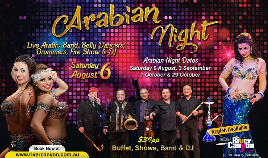 Arabic Night Party Lebanese Party Restaurant