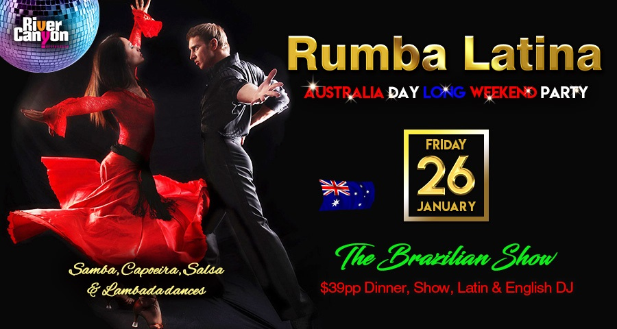 Australia Day Long Weekend Party Friday 26 January