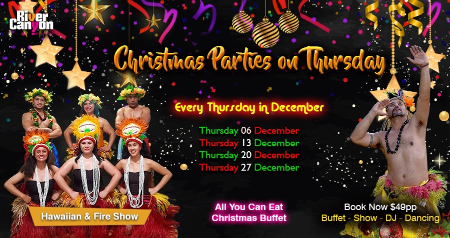 Christmas Party Dinner Dance Show Nights