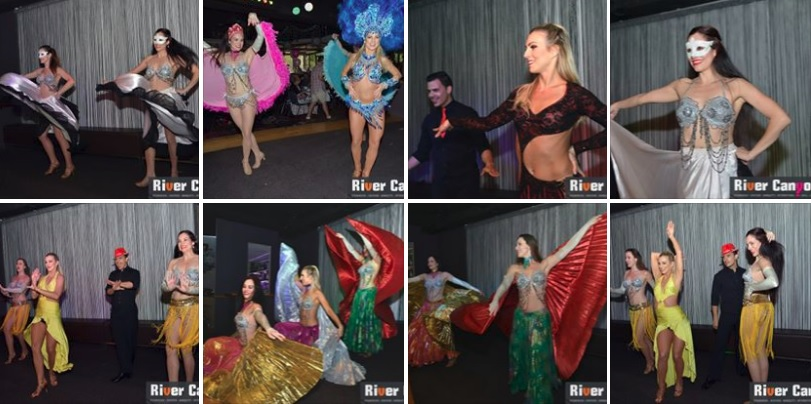 Las Vegas to Paris Burlesque Dinner Dance Show Party