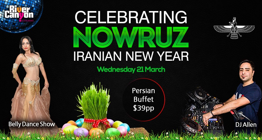 PERSIAN Nowruz 2018 Party with Persian Buffet And Dancing