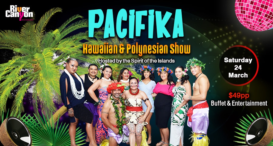 PaciFiKa Party Night with Live Island Show Entertainment DJ and Dancing