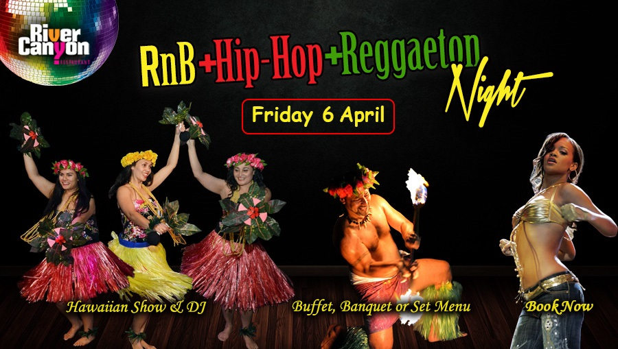 RnB, Reggae & Reggaeton Dance Music Club